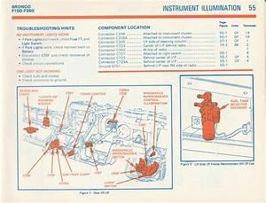 1981 F100 Gauge Cluster Wiring Diagram