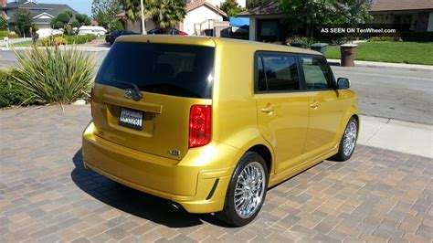2008 Scion Xb Limited Edition In Gold Color