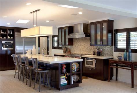 kitchen design exles custom contemporary kitchen cabinets alder wood java 1194