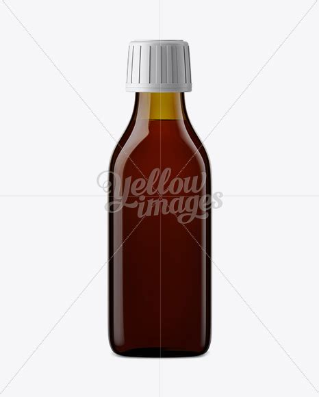 In this psd file you can change the color of the cap and available format: Syrup Bottle Mockup in Bottle Mockups on Yellow Images ...