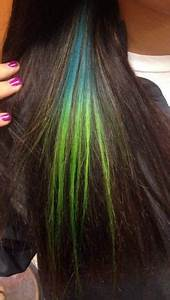 Pravana Neons by IG hairgodzito on his awesome wife IG