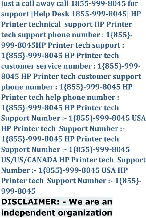 hp help desk number just dial 1 855 999 8045 hp printer tech nical supp ort