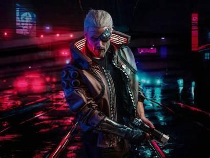 Cyberpunk 2077 Witcher 4k Wallpapers Resolution Geralt