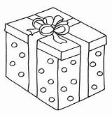 Coloring Christmas Pages Box Presents Sheets Colouring Gifts Printable Printables Anycoloring sketch template