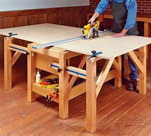 Plywood Cutting Table Plans - Circular Saw Tips, Jigs and