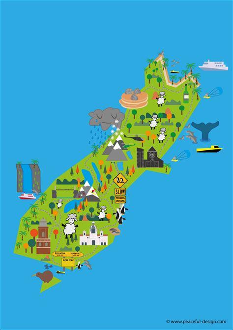 maps   zealand study   zealand