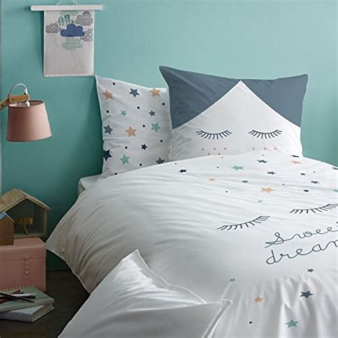 Entdecken unseren fantastischen auswahl an. 100% Baumwolle - Kissenbezug 80×80 + Bettbezug 135×200 cm - BALLERINA Mädchen Bettwäsche Set ...