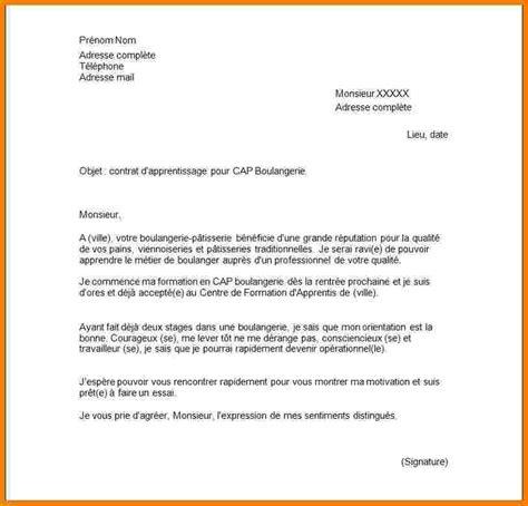3 lettre motivation pour ecole lettre officielle