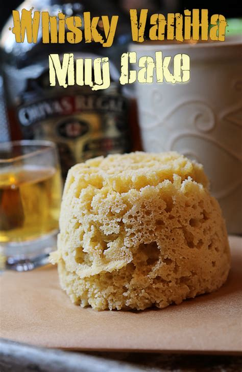 Vanilla Whisky Keto Mug Cake | Ruled Me