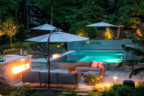 turn your backyard landscaping nj into an outdoor living