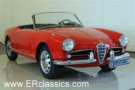 Alfa Romeo Classic by Alfa Romeo Giuletta Spider 750d 1956 For Sale At Erclassics