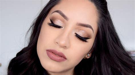 Full Glam Makeup Tutorial  Arabic Makeup Look  Youtube
