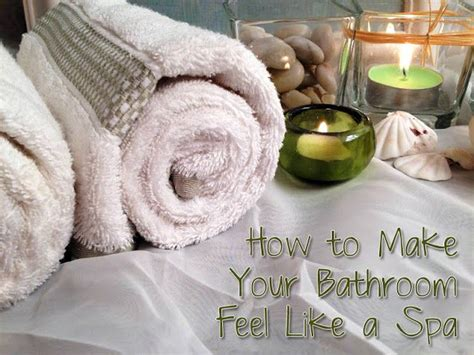Spa Bathrooms On A Budget by How To Make Your Bathroom Feel Like A Spa On A Budget