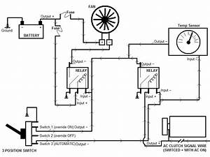 Diagram  2 Speed Electric Cooling Fan Wiring Diagram