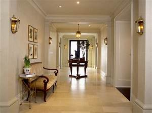 How to decorate your hallway with a wall sconce for Interior decor hallways
