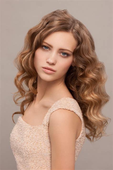 locken frisuren fuer lange haare