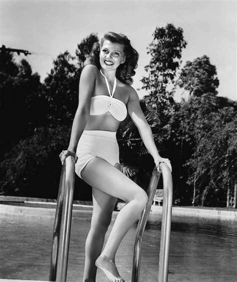 rita hayworth bikini actress rita hayworth poses for a publicity still circa