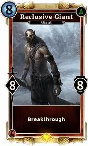Reclusive Giant   Elder Scrolls Legends Wiki Wiki