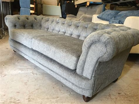 Chesterfield Fabric Sofa by Fabric Chesterfield Sofas 3 Seater 2 Seater Included