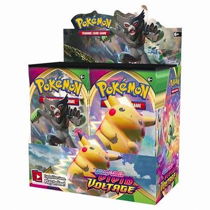 Booster Vivid Voltage Pokemon Shield Sword Box