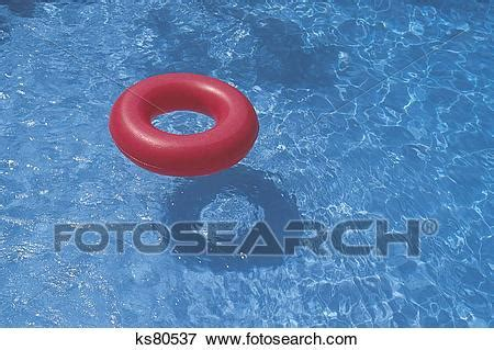 Picture Of Inner Tube In Swimming Pool Ks80537 Search