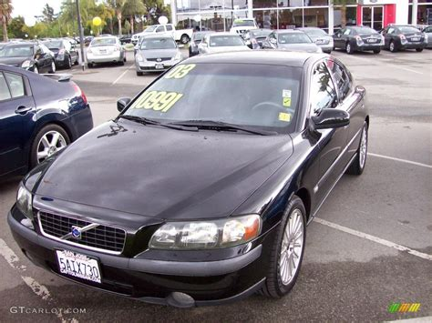 Volvo S60 2 4t by 2003 Black Volvo S60 2 4t 7272947 Gtcarlot Car