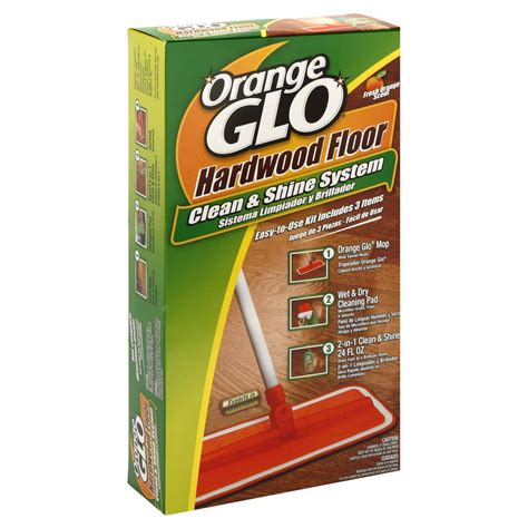 Orange Glo Hardwood Floor Cleaner Kit by Clorox Readymop Mopping System Starter Kit 1 System