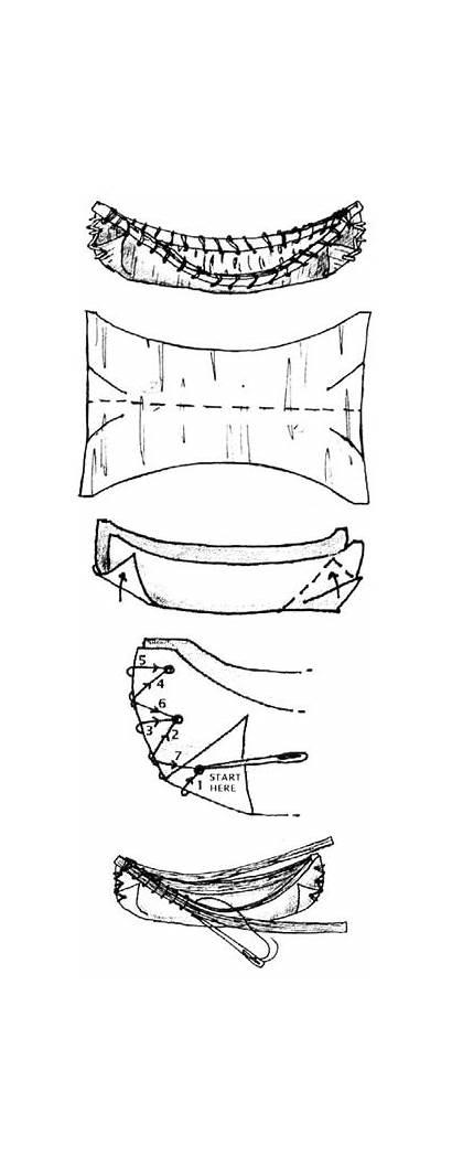Native American Canoe Bark Crafts Birch Craft