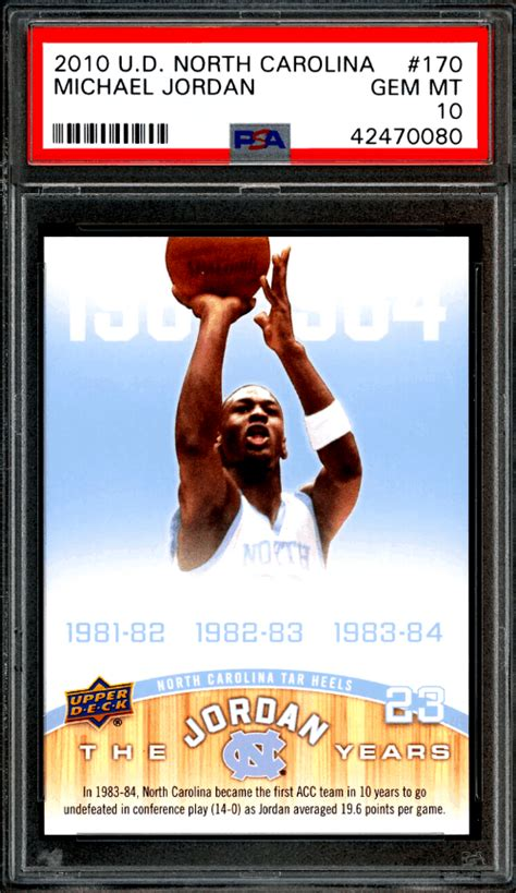 Adding a michael jordan rookie card to your collection? Best 7 Michael Jordan North Carolina Rookie Cards (Checklist and Investment Outlook) | Gold Card ...