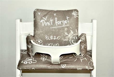 trip trap stoel beugel fuchsia polka kussen voor tripp trapp kinderstoel