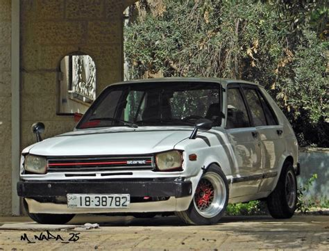 stance toyota toyota starlet stance car by me pinterest