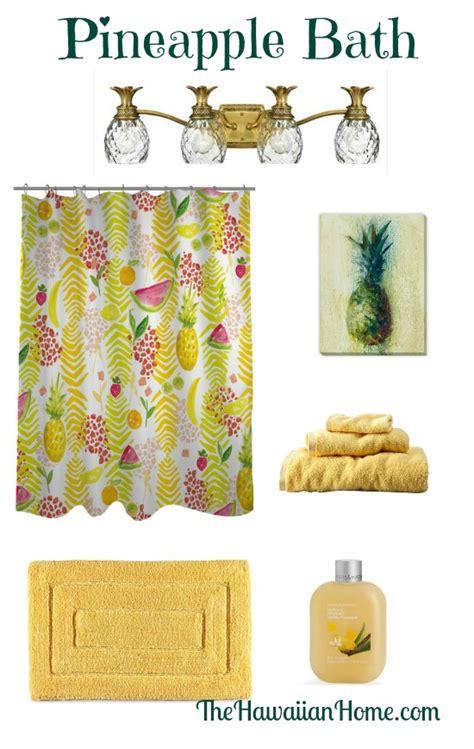 hawaiian bathroom decor fruity pineapple bathroom design the hawaiian home
