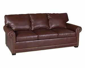 Sofa Sleeper Leather Ventura Leather Sofa Sleeper By J M