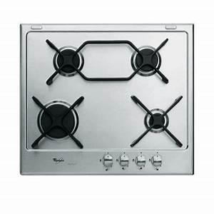 Table De Cuisson Gaz 4 Feux : table de cuisson gaz 4 feux akt697ixl castorama ~ Edinachiropracticcenter.com Idées de Décoration