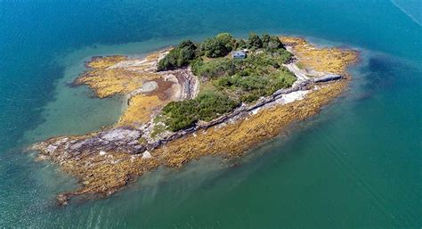 historic casco bay island once owned by arctic explorer up