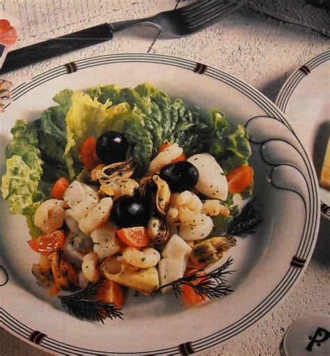cuisiner cocktail de fruits de mer surgelé salade marine à l 39 italienne entrée saveurs en liberté