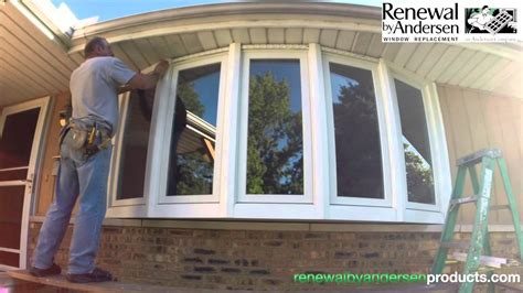 Renewal By Andersen Bow Window Installation Youtube