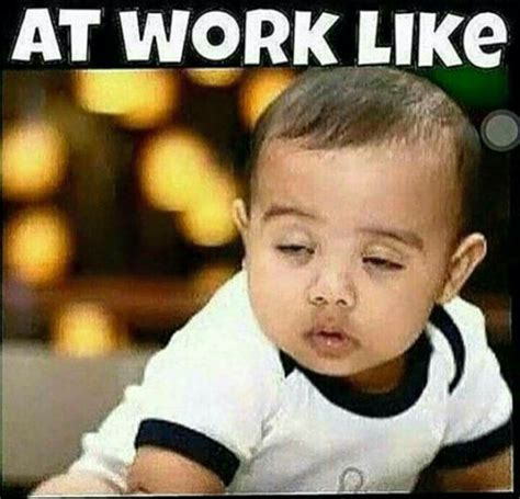 Sleepy Baby Meme - at work like sleepy the itis baby north west things that make you say pinterest