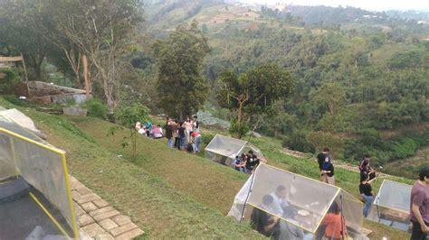 serunya nongkrong  lereng anteng panoramic coffee place