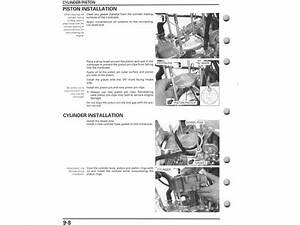 Service Manual    2004 - 2013 Honda Crf250x