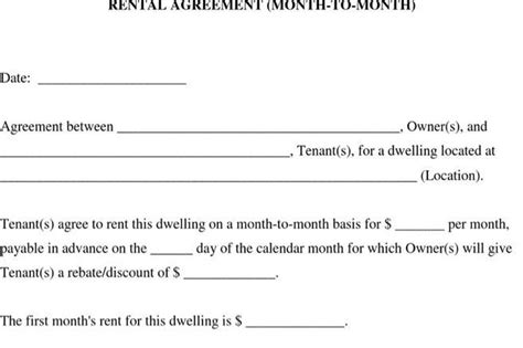Download Lease Template For Free