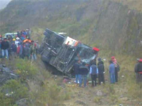 Alausiaccidente De Transito En La Ruta Alausiriobamba