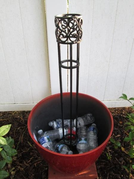 fill planters  plastic bottles thriftyfun