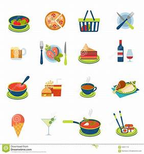Soup Flat Icon, Food Drink Elements Cartoon Vector ...