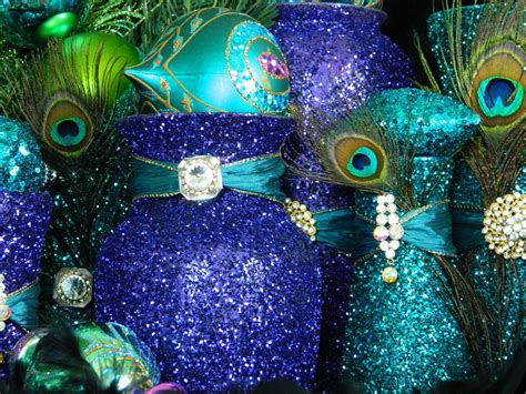 Peacock Decorations For Home: Decorations, Peacock Centerpiece