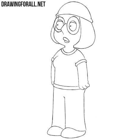 draw meg griffin drawingforallnet