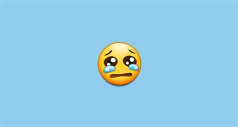 crying face emoji  samsung experience
