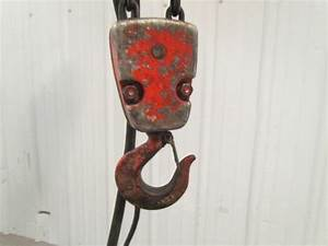Duff Lynx Coffing Elc4003 2 Ton 3 Ph Electric Chain Hoist