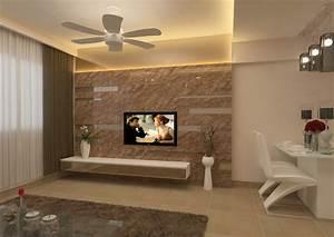 Feature wall tv la casa bella
