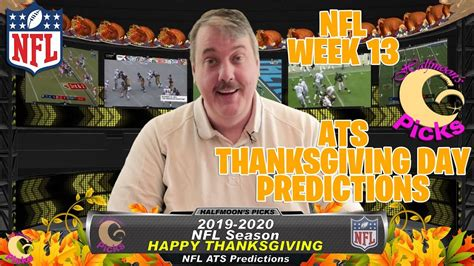 NFL Week 13 Thanksgiving Day Games ATS Picks for the 2019